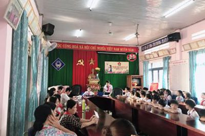Liên đội Lê Qúy Đôn tổ chức Đại hội Cháu ngoan Bác Hồ