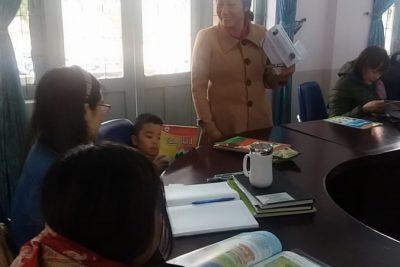 Trường TH Lê Quý Đôn Tập huấn cho chương trình giáo dục mới.