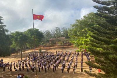 Tập thể dục giữa giờ: Nét đẹp học đường của HS Trường Tiểu học Lê Quý Đôn